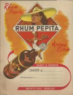 "Protège Cahier ""RHUM PEPITA"" - Alimentaire"