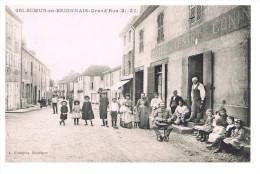 Semur En Brionnais Grand'rue (2)  Cpa état Neuf - Otros Municipios