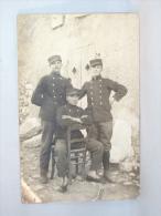 Militaria. Cassis 1914. Souvenir De La Guerre. Militaires. - Characters