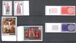 Andorre Fr. LOT EUROPA CEPT 1970/74/75** BDF Cote 108,00 € - Andorre Français