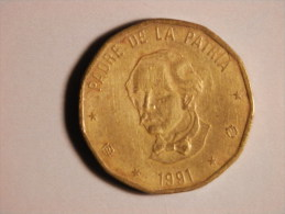 1 Peso 1991 - Dominicaine