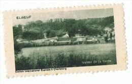 VIGNETTE Avec Charnière - ELBEUF - Vallée De La Seine - Tourisme (Vignettes)