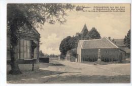 Wortel - Stilstandplaats Vd Tram En Gedenkzuil Der Oud Strijders - Hoogstraten