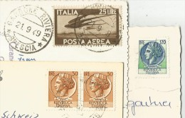 ISOLE DEL GARDA Gardone Riviera Brescia 3 Cartoline - Brescia