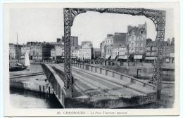 50 : CHERBOURG - LE PONT TOURNANT OUVRANT - Cherbourg