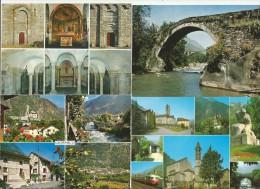 GIORNICO Ponte Meioevale Chiesa San Nicolao Leventina Ticino 4 Ansichtskarten - TI Tessin