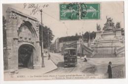 ROUEN - La Fontaine Sainte Marie Et L'ancien Portail Des Dames De Sainte Claire - Rouen