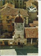 YUGOSLAVIA 1969 - POSTCARD  - TROGIR  MAILED TO SWITZERLAND - TAXED ON ARRIVAL W 1 ST OF 0,60 + TAXE OF 15 POSTM OCT 9,1 - Yougoslavie