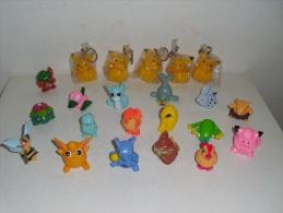 LOTTO  FIGURE  POKEMON - Figurines