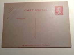 France 1927, 90c Type Pasteur Carte Postale Avec Reponse Payé, Neuf TTB, Entier Postal Pas Courant .Yvert Cprp 1 = 400€
