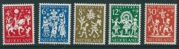 Netherlands 1961 SG 914-18 MNH** - 1949-1980 (Juliana)