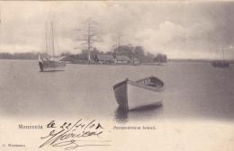 CPA LIBERIA @ MONROVIA En 1904 @ Perceverance Island @ Bateau - Liberia