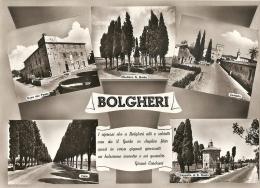 N-BOLGHERI-VEDUTINE-POESIA DI CARDUCCI - Livorno