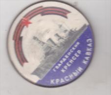 USSR Russia - Battleships Pin Badges - Cruiser - Krasnyi Kavkaz - Boten