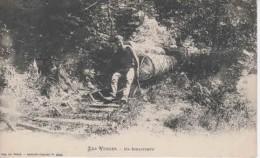 88 - 20546  -   UN  SCHLITTEUR   ,   Des   VOSGES - Frankrijk