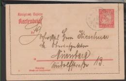Kartenbrief,K6/02  (3530) - Bayern