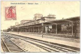 57  AVRICOURT   - Bahnhof - Gare  ,  ( Timbre Verso Decollé ) - France
