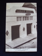 CPA GUADELOUPE 97110 GARAGE RENAULT RUE FREBAULT POINTE A PITRE - Pointe A Pitre