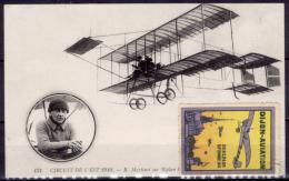 Francia-166 (1910-Cart.nuova-Circuito Con Biplano, Pilota Ed Erinnofila Della Manifestazione) - ....-1914: Precursori
