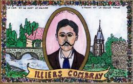 (H)  Carte  D'illiers Combray  Dessin De Marc Ledogar     Marcel Proust  Tirage Limite 700 Ex   No 67  Signe Au Dos - Ledogar