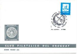 URUGUAY. N°1315 Sur Enveloppe 1er Jour (FDC) De 1990. Général Artigas. - Militares