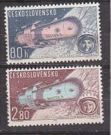 L3708 - TCHECOSLOVAQUIE AERIENNE Yv N°59/60 * - Corréo Aéreo