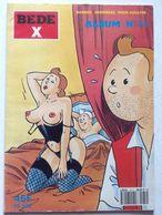 No PAYPAL !! : Jan Bucquoy Bd Érotique Parodie La Vie Sexuelle Du Héros Tintin De Hergé ,Éo Collection Béde X 31 Adulte - Edizioni Originali (francese)