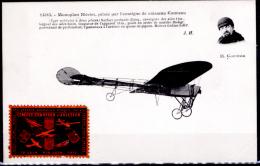 Francia-169 (1911-Cart. Nuova-Monoplano Blériot, Pilota Ed Erinnofila Della Manifestazione) - ....-1914: Precursori