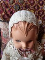 Petit Bonnet Ancien Dentelle - 1900-1940