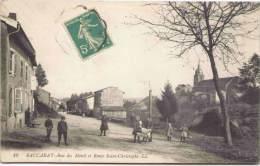 BACCARAT - Rue Du Ménil Et Route Saint-Christophe - Baccarat