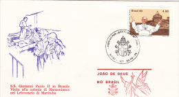 Pope John Paul II - Visit: 1980 Brazil Belem (G37-6) - Buddhism
