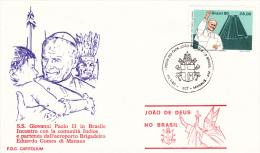 Pope John Paul II - Visit: 1980 Brazil Manaus (G37-6) - Buddhism