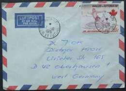 WALLIS & FUTUNA - JEUX OLYMPIQUES / 1976  LETTRE AVION NON PHILATELIQUE POUR L ALLEMAGNE (ref 1992) - Wallis And Futuna