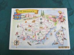 La Provence - Carte Geografiche