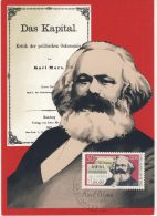 DDR Maximum Michel No. 2786 / MK 1/83 Karl Marx