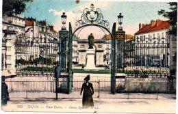CP, 21, DIJON,  Place D'Arcy, Voyagé En 1920 - Dijon