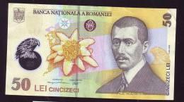 50 Lei 2005 UNC Polymer Plastic Note Romania - Roumanie