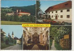 Grüße Aus SCHLIERBACH - Stift, Stiftskeller, Ortsansicht, Kirche, Fitnessweg - Austria