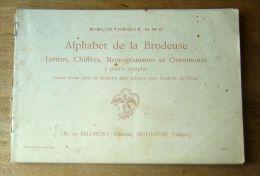 ALPHABET DE LA BRODEUSE - Loisirs Créatifs