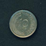 SINGAPORE -  1969 10c Circ. - Singapore