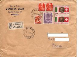 118 AL.ROS. - REPUBBLICA ITALIANA - STORIA POSTALE - RACCOMANDATA - 6. 1946-.. Repubblica