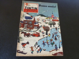 JOURNAL TINTIN N°53 1958  WILL   BONNE ANNEE - Tintin