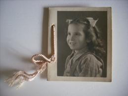 Calendarietto/calendario Fotografia Bambina 1949. Fogli Mensili Singoli. - Calendari