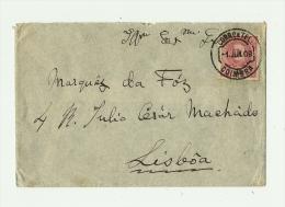 PORTUGAL - COIMBRA  1 JUN.09/Yv.N°131V°- Arr.  LISBOA - 2 SET.09 - Lettres & Documents