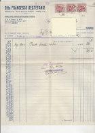 PO0542C# Fattura DITTA ARTICOLI PER CALZOLAI DESTEFANIS - TORINO 1930  Con Tasse Di Bollo Regno - Italia