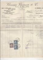 PO0545C# Fattura LIME E UTENSILI PER ARTI E MESTIERI - TORINO 1933  Con Tasse Di Bollo Regno - Italia