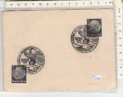 PO0574C# GERMANIA 3° REICH - ANNULLO SPECIALE GAUTAG AM WESTWALL - KAISERS LAUTERN 1939 - Briefe U. Dokumente
