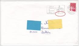W] Curiosité France Flamme Avec Date Erronée 15 - 14 - 97 - Abarten Und Kuriositäten