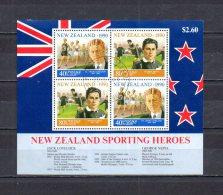 Nueva Zelanda   1990  .-   Y&T Nº   76   Block - Blocchi & Foglietti
