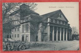 GREIFSWALD - Stadthalle - Theatereingang - Feldpost - Greifswald